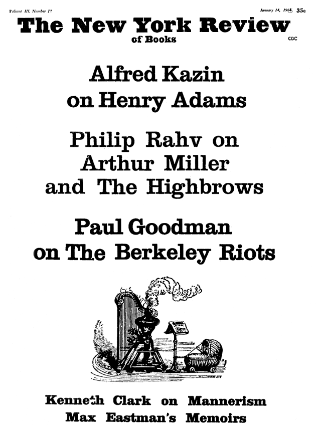 Image of the January 14, 1965 issue cover.