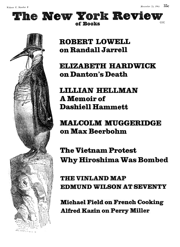 Image of the November 25, 1965 issue cover.
