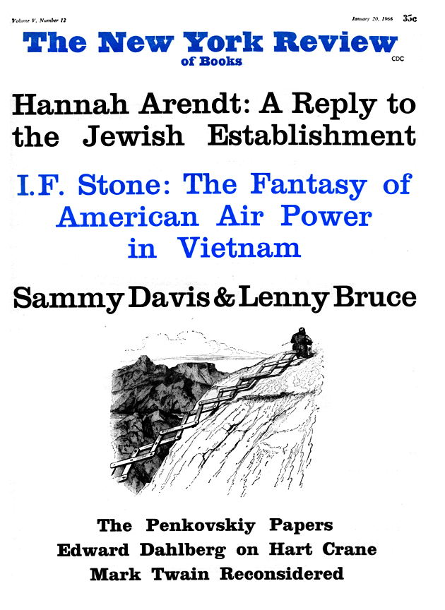 Image of the January 20, 1966 issue cover.