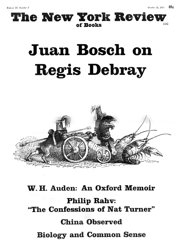 Image of the October 26, 1967 issue cover.