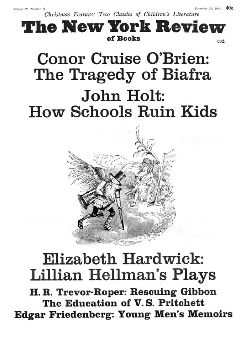 Image of the December 21, 1967 issue cover.