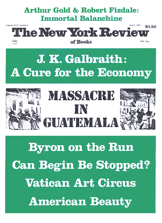 Image of the June 2, 1983 issue cover.