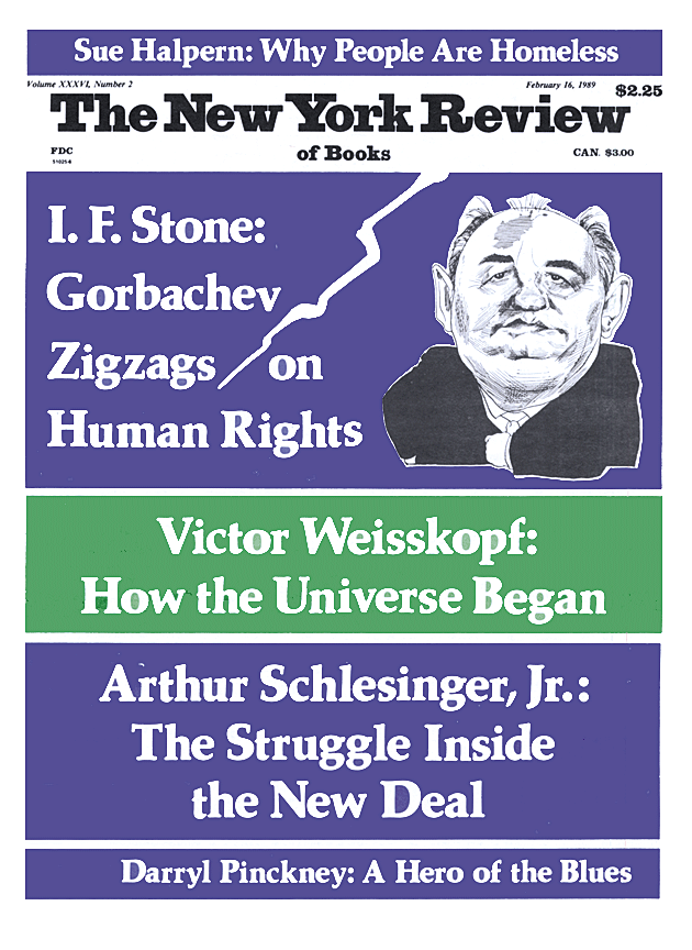 Image of the February 16, 1989 issue cover.