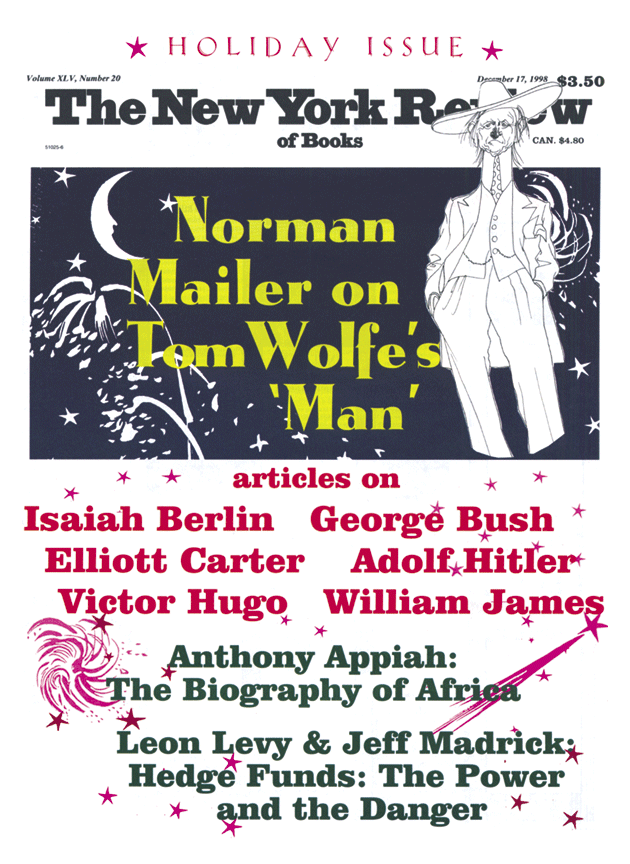 Image of the December 17, 1998 issue cover.