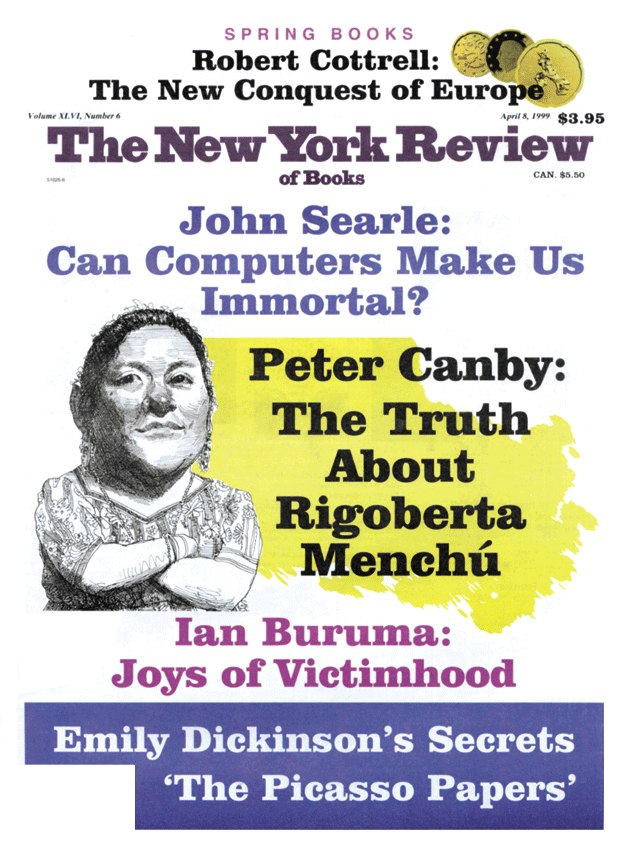 Image of the April 8, 1999 issue cover.