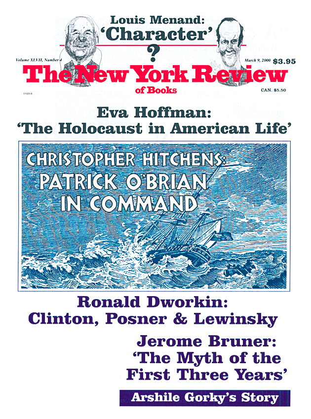 Image of the March 9, 2000 issue cover.