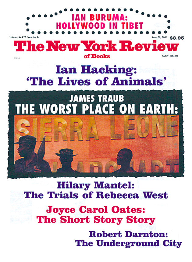 Image of the June 29, 2000 issue cover.
