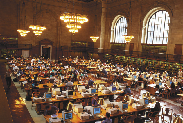 The Rose Reading Room at the New York Public Library