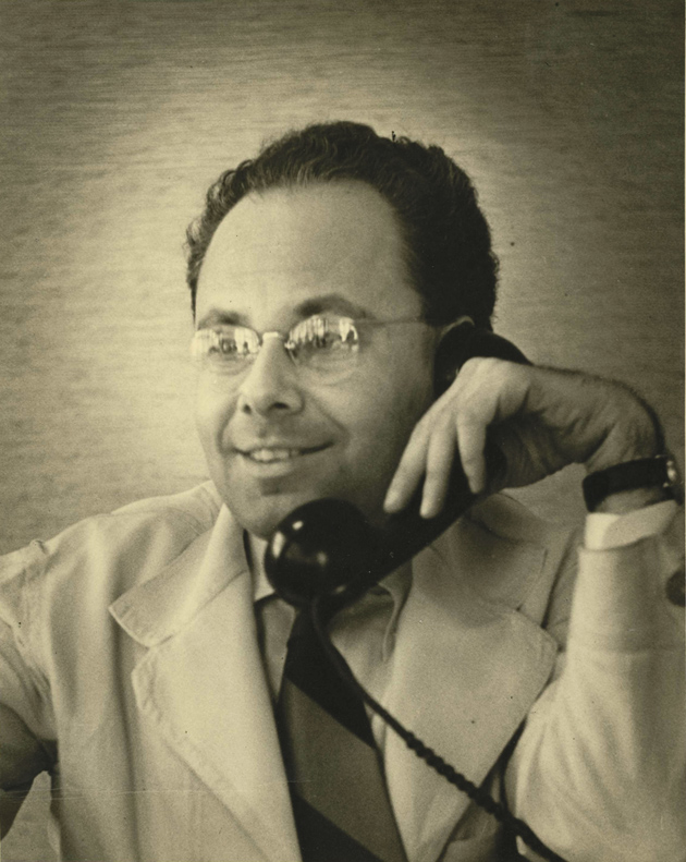 Alvin Levin, early 1950s