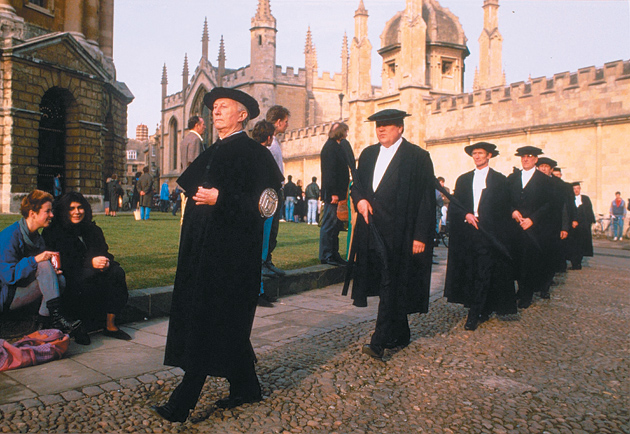 A memorial service for Harold Macmillan, Oxford University, 1987