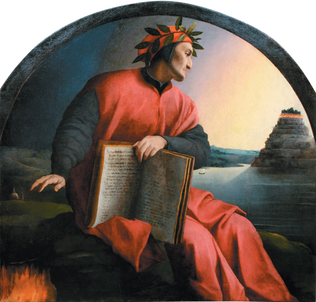 Agnolo Bronzino: Allegorical Portrait of Dante Alighieri, 1532–1533; from the Palazzo Strozzi's recent exhibition 'Bronzino: Artist and Poet at the Court of the Medici,' reviewed by Ingrid D. Rowland on pages 8–10 of this issue