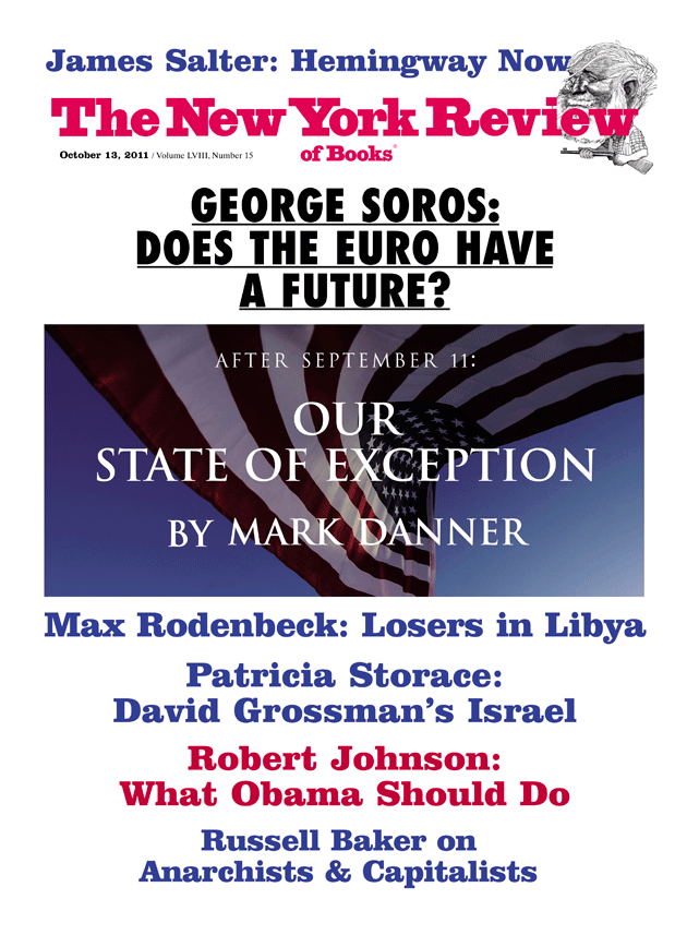 Image of the October 13, 2011 issue cover.