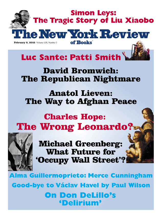 Image of the February 9, 2012 issue cover.