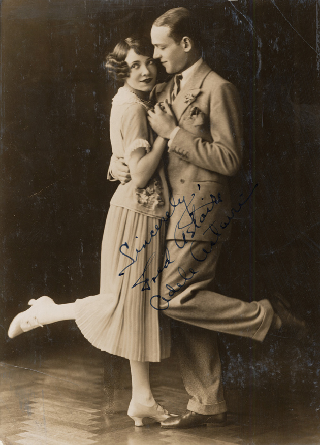 Fred and Adele Astaire in Stop Flirting, Shaftesbury Theatre, London, May 1923