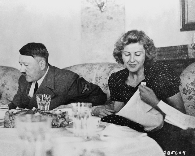 Adolf Hitler and Eva Braun, Berlin, 1940s