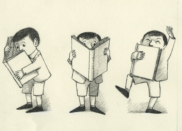 Original drawings by Maurice Sendak for Robert Graves's The Big Green Book, 1962; from the Rosenbach Museum and Library's exhibition 'Maurice Sendak: A Legacy.' For more on Sendak, see Alison Lurie's essay in this issue.