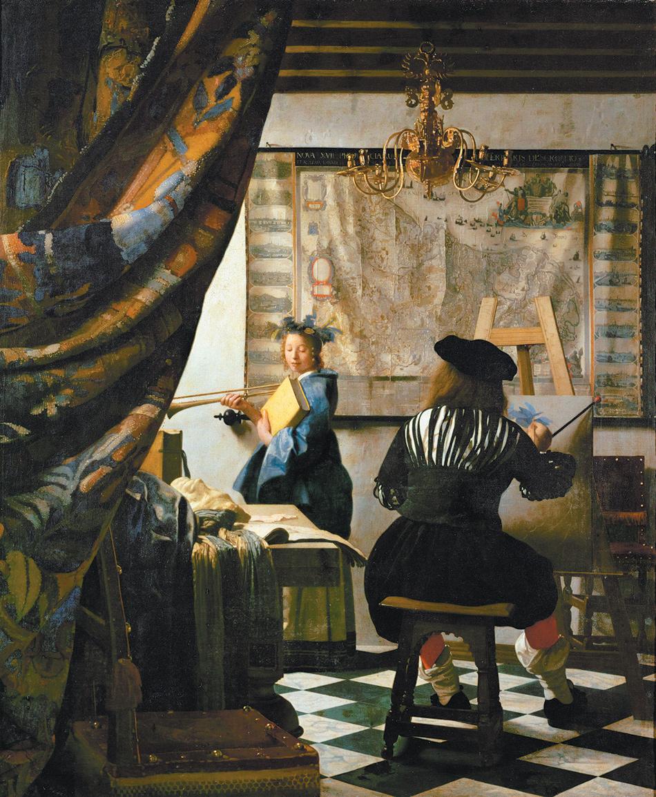 Johannes Vermeer: The Art of Painting, circa 1666