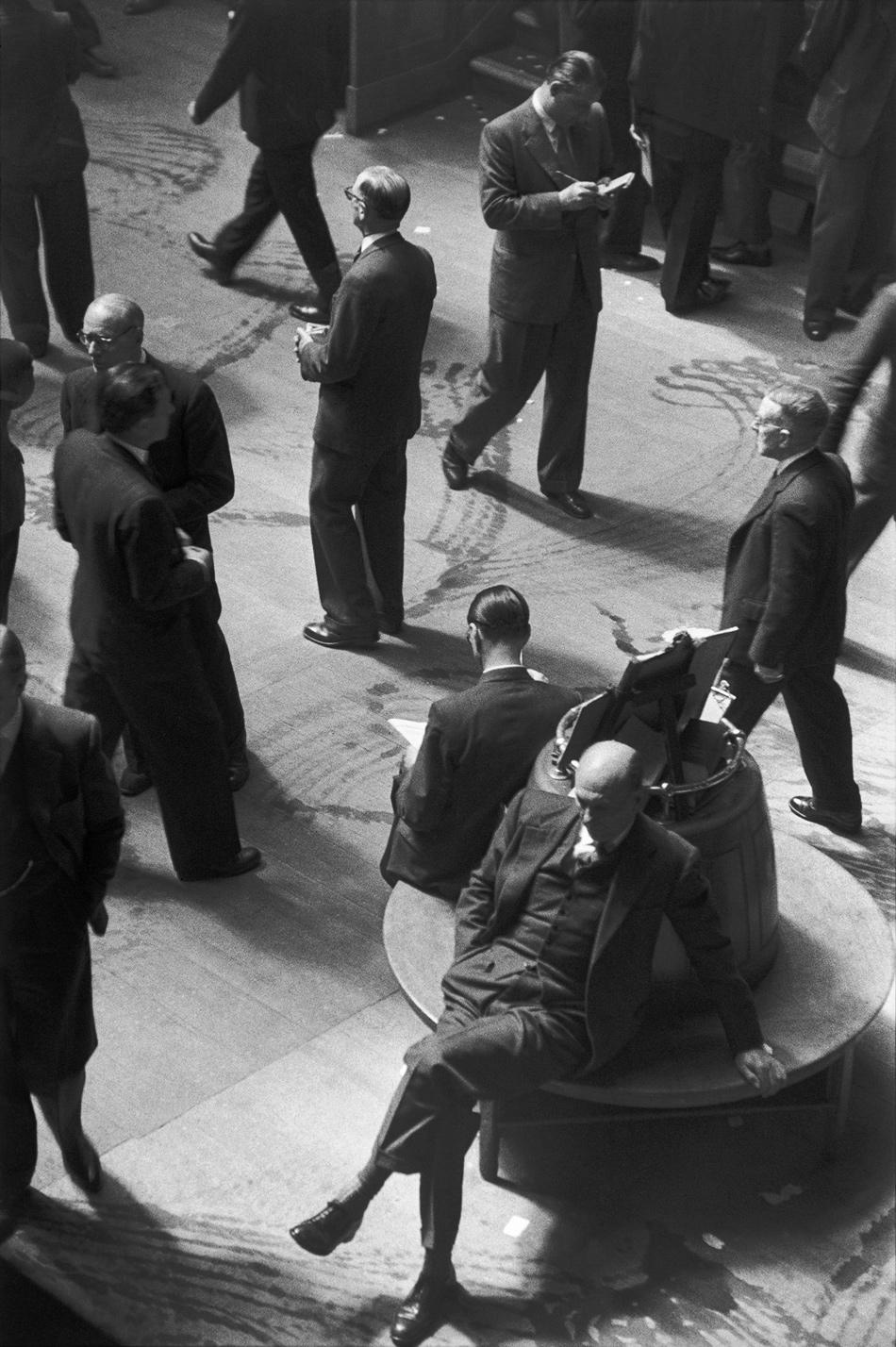 The London Stock Exchange, 1955