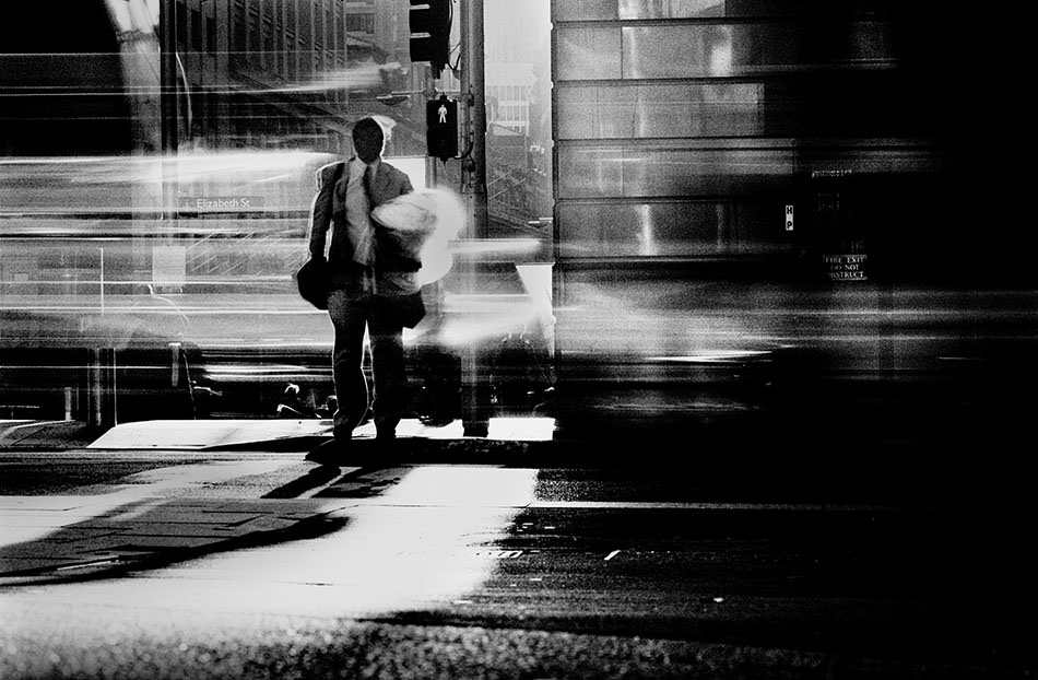 An image from photographer Trent Parke's