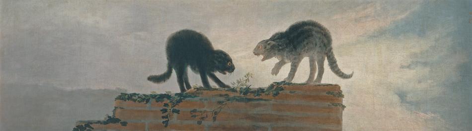 Francisco de Goya: Riña de gatos, 1786