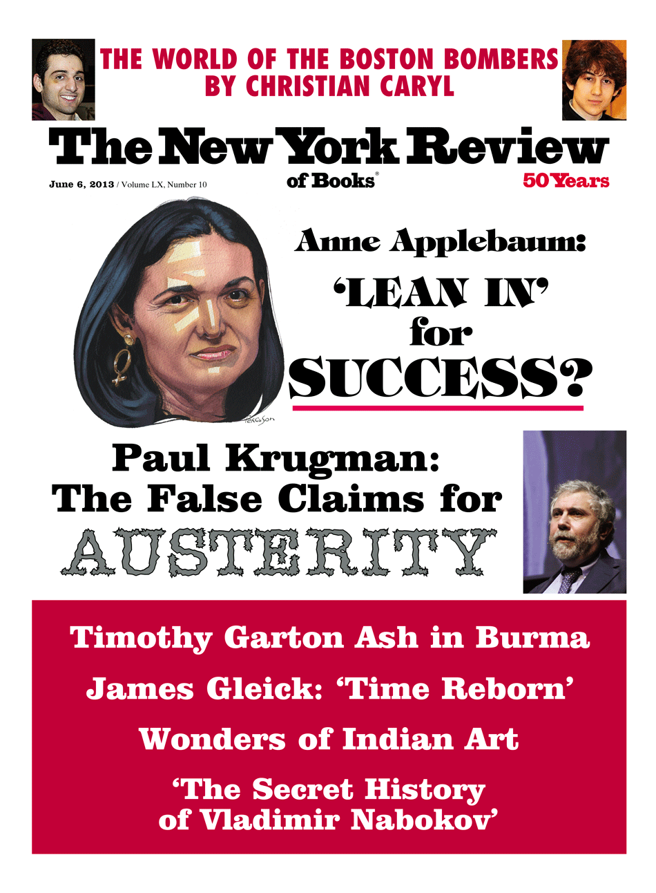 Image of the June 6, 2013 issue cover.