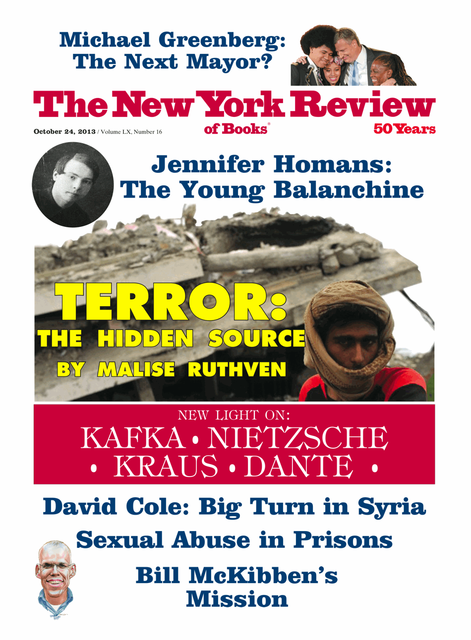 Image of the October 24, 2013 issue cover.