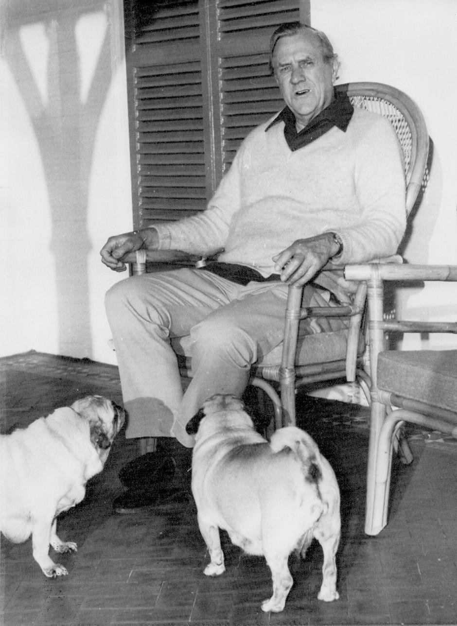 Patrick White, Sydney, Australia, 1973
