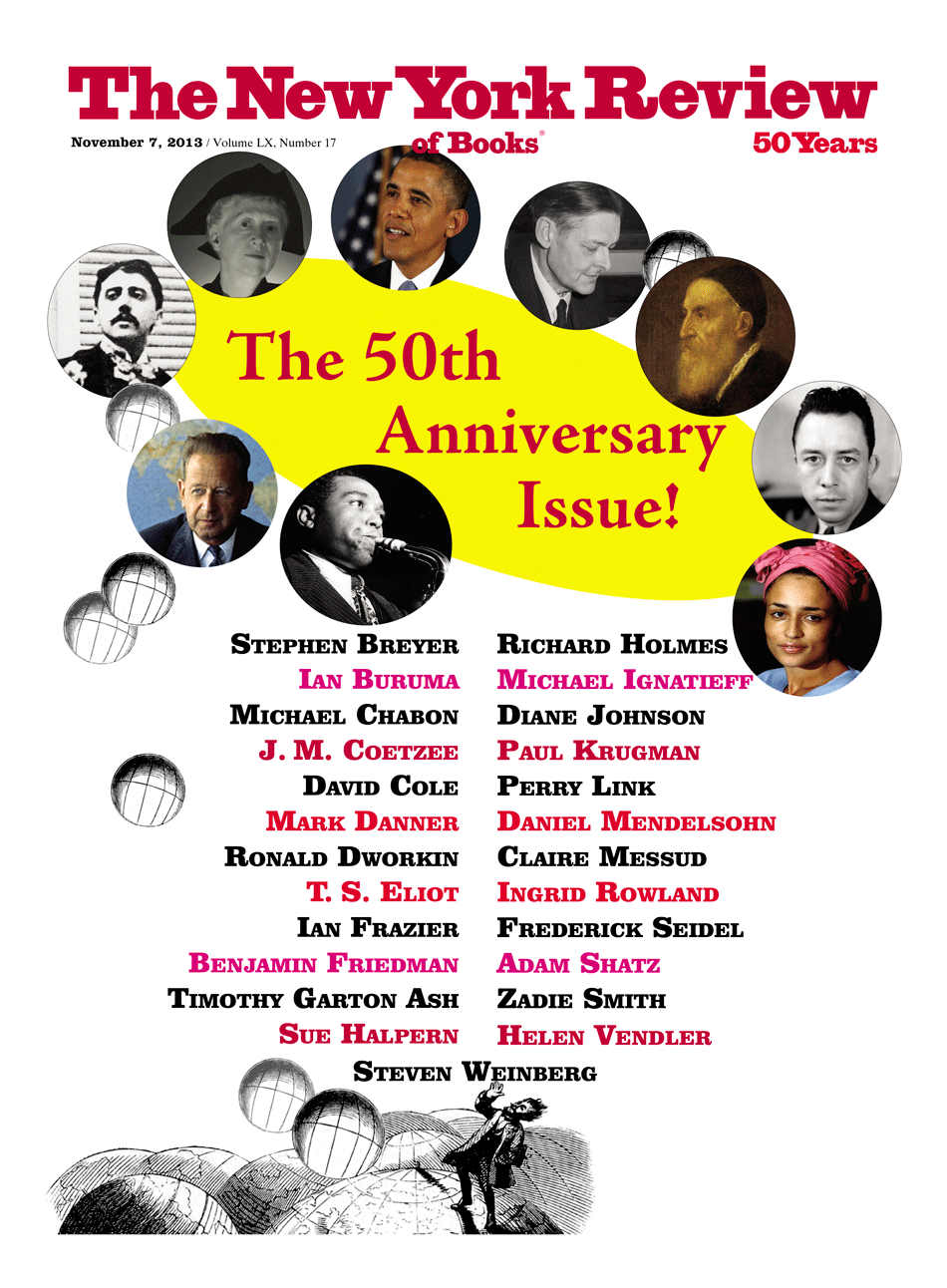 Image of the November 7, 2013 issue cover.
