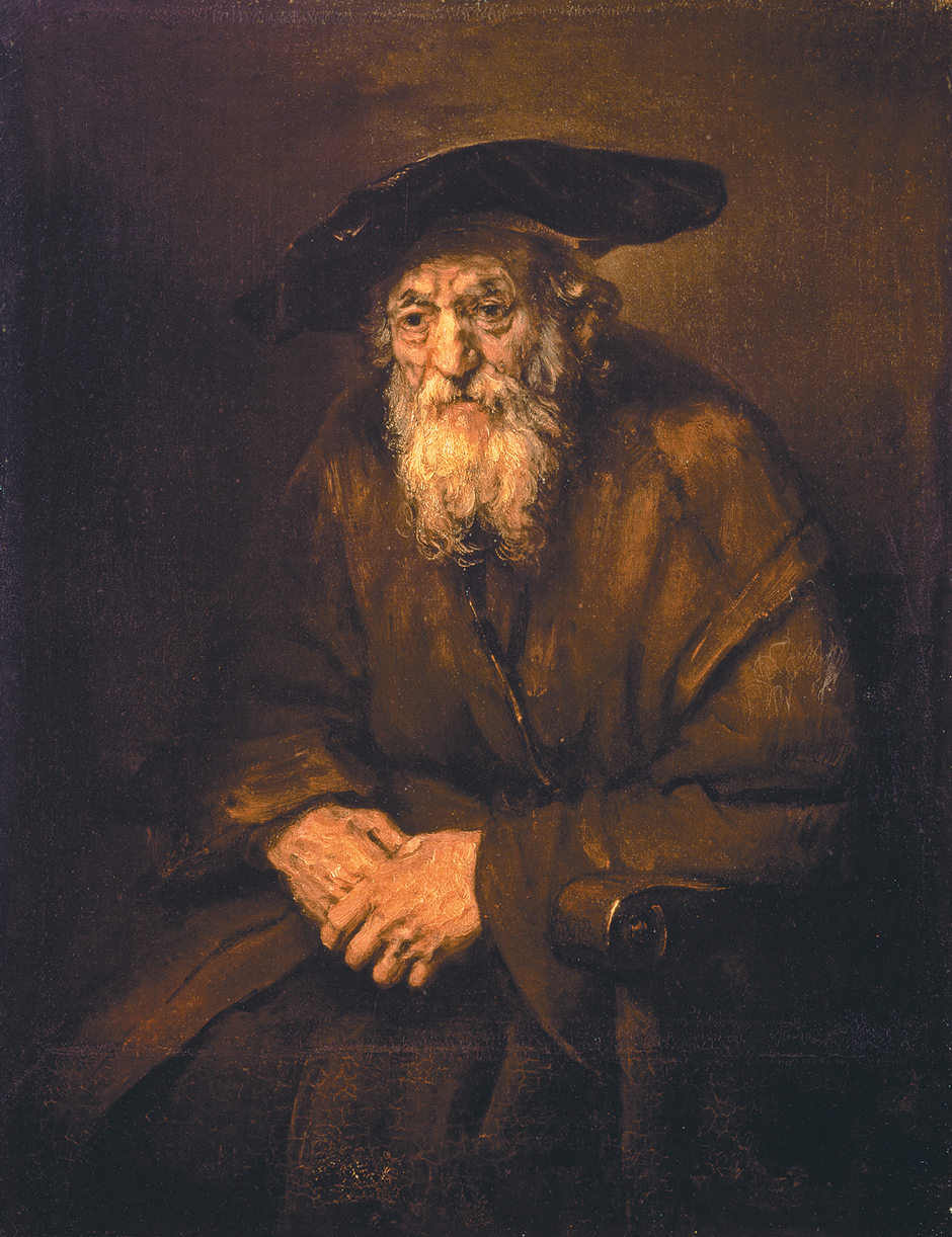 Rembrandt: Portrait of an Old Jew, 1654