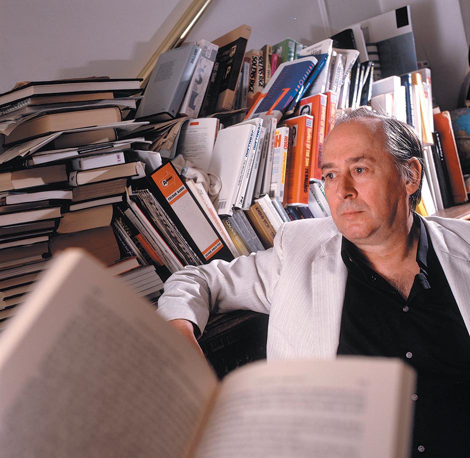 J.G. Ballard, London, 1987