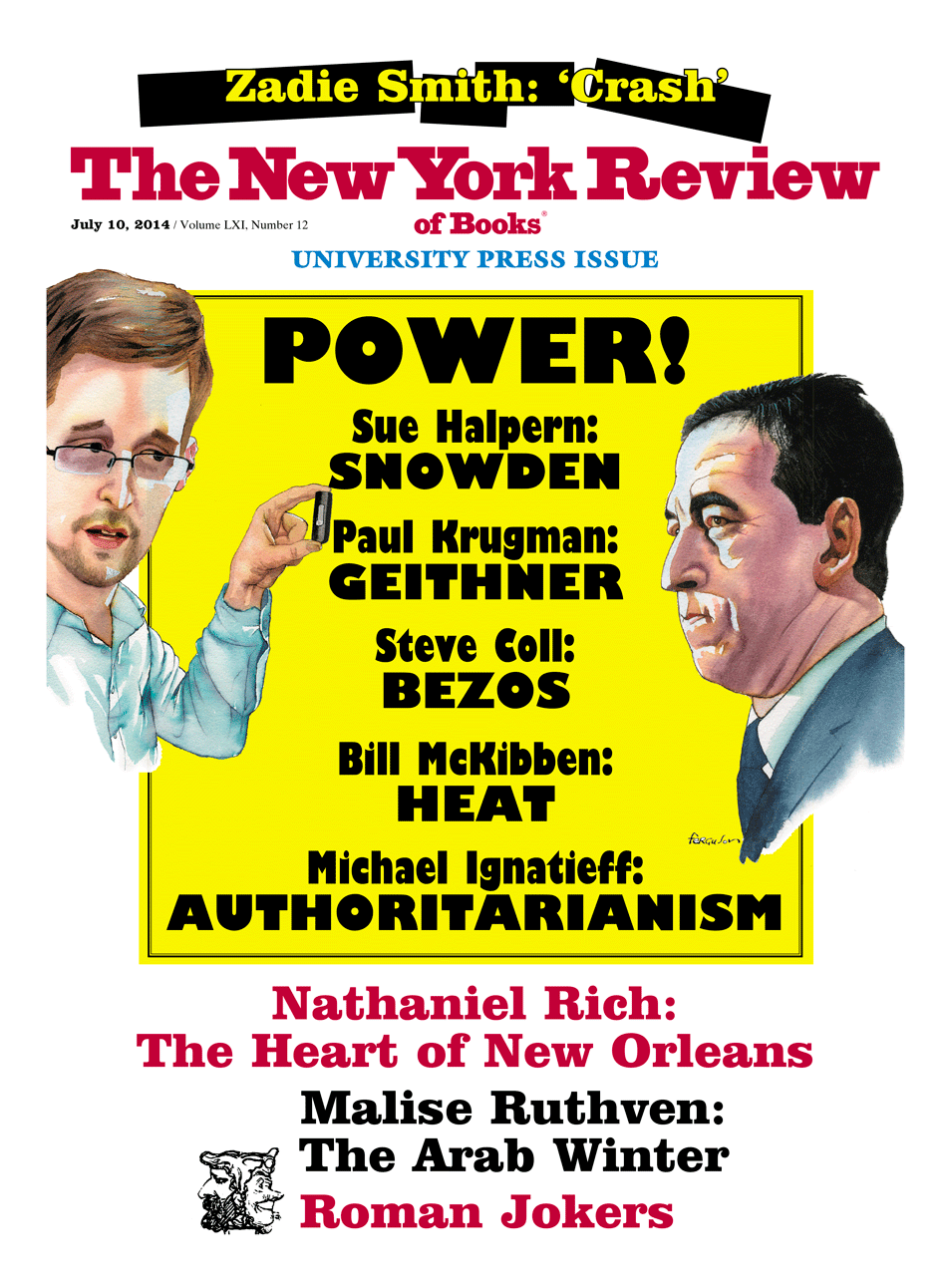 Image of the July 10, 2014 issue cover.