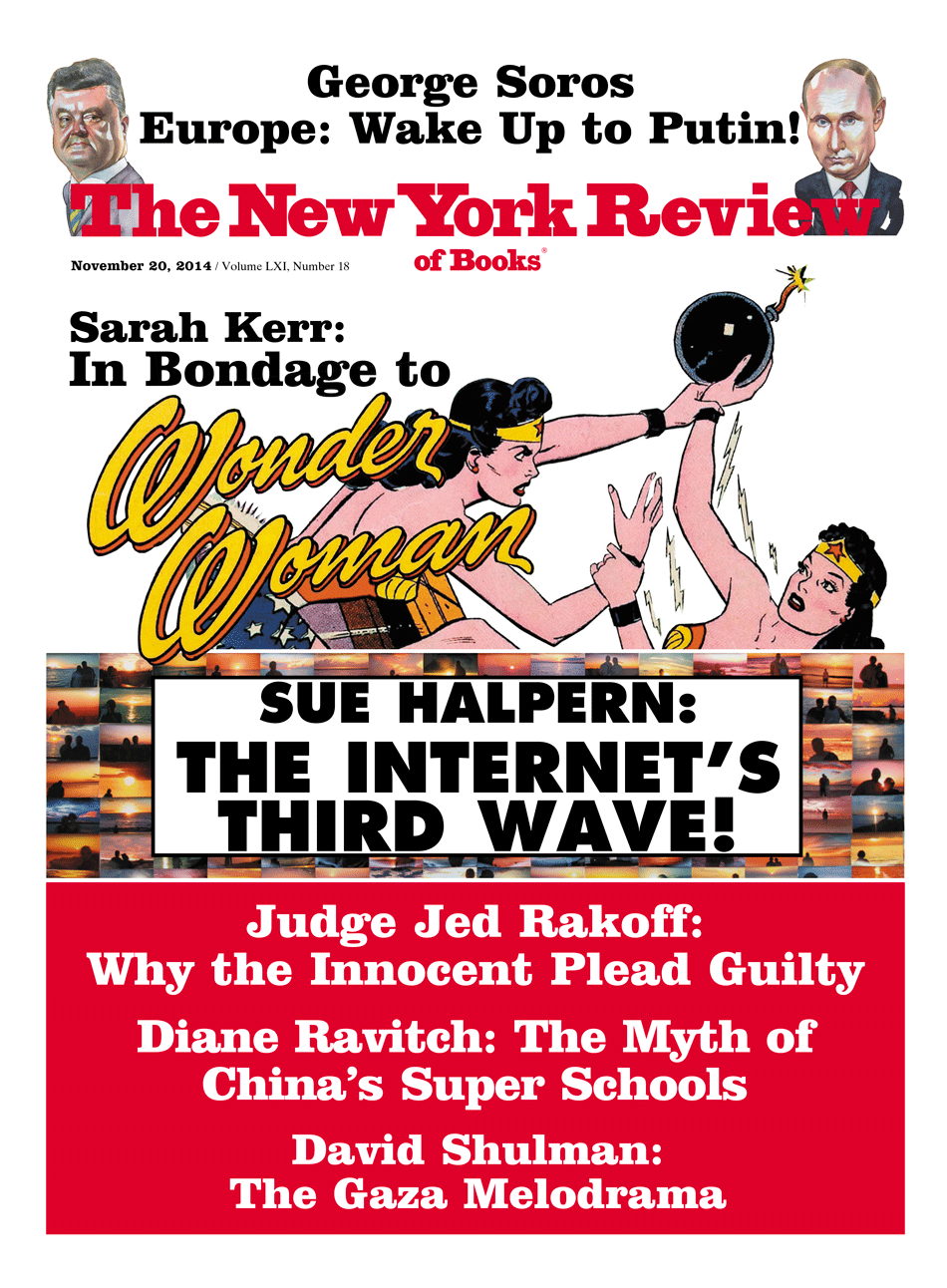 Image of the November 20, 2014 issue cover.