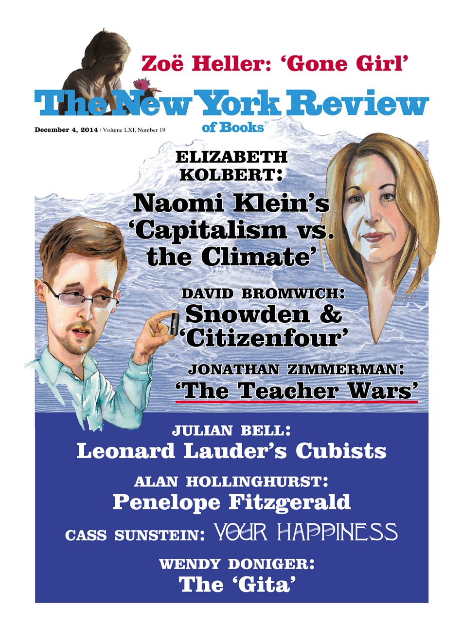 Image of the December 4, 2014 issue cover.