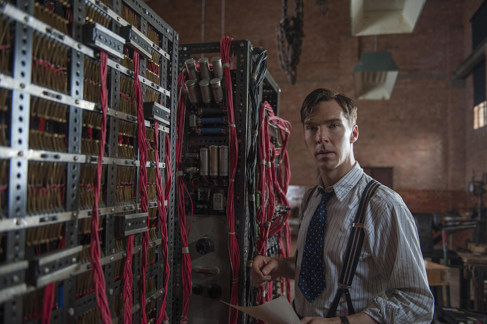 Benedict Cumberbatch as Alan Turing in The Imitation Game, 2014