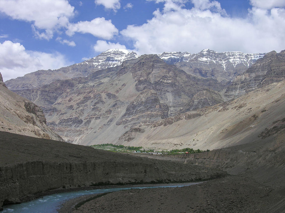 View of the Tabo monastery from the east, June 21, 2006