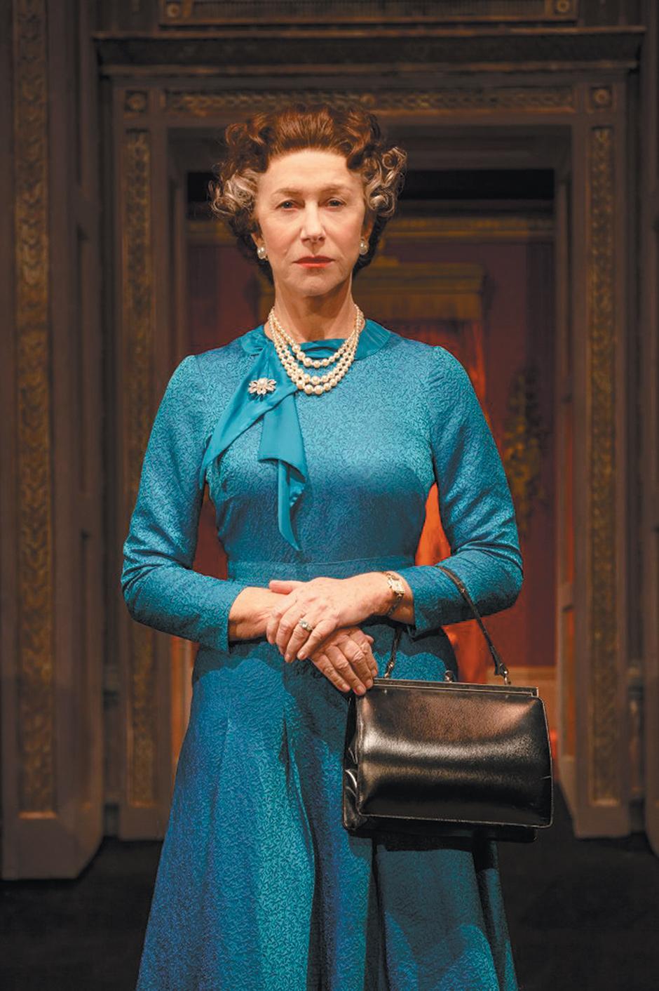 Helen Mirren as Queen Elizabeth II in The Audience
