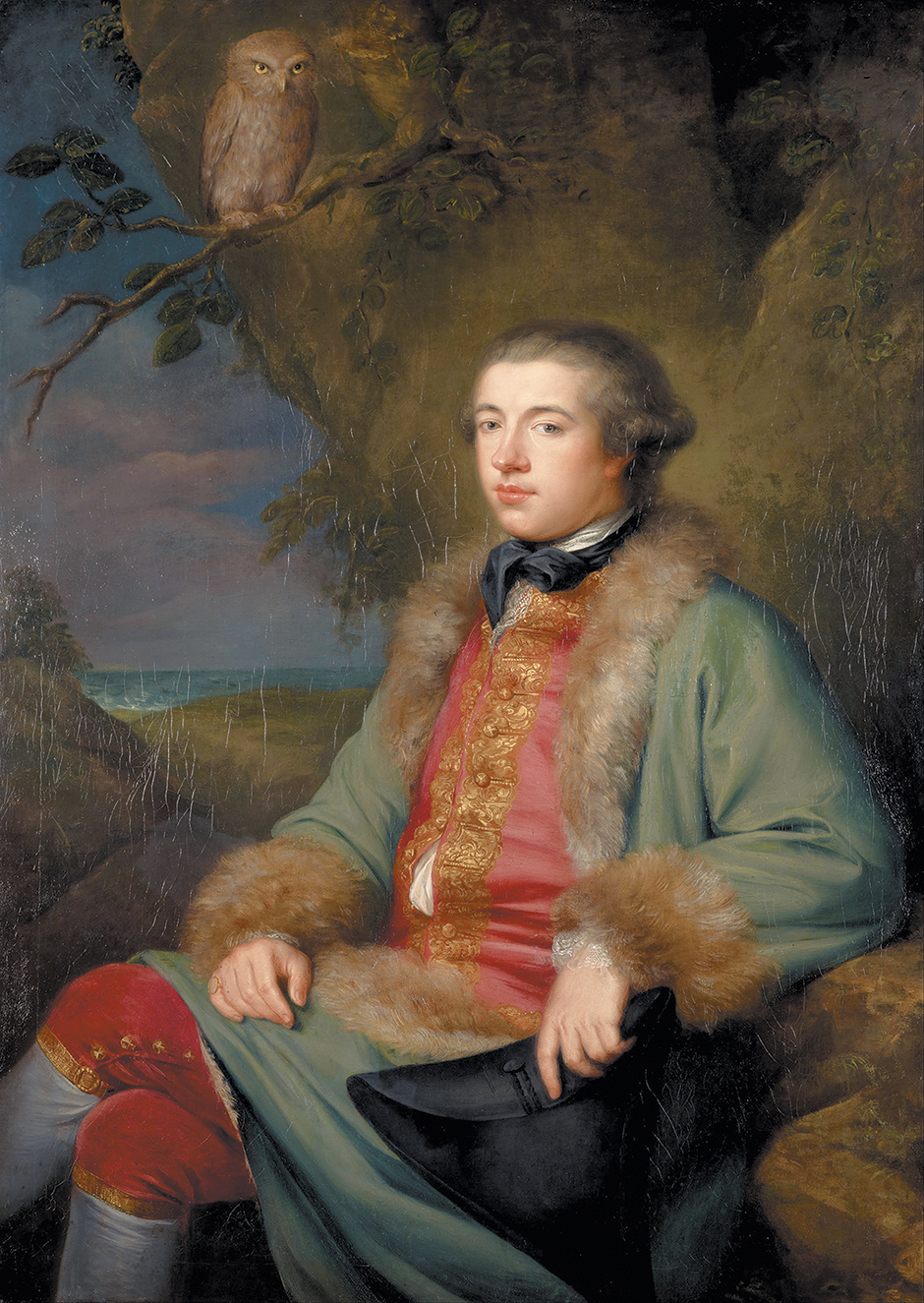 James Boswell, 1765; portrait by George Willison