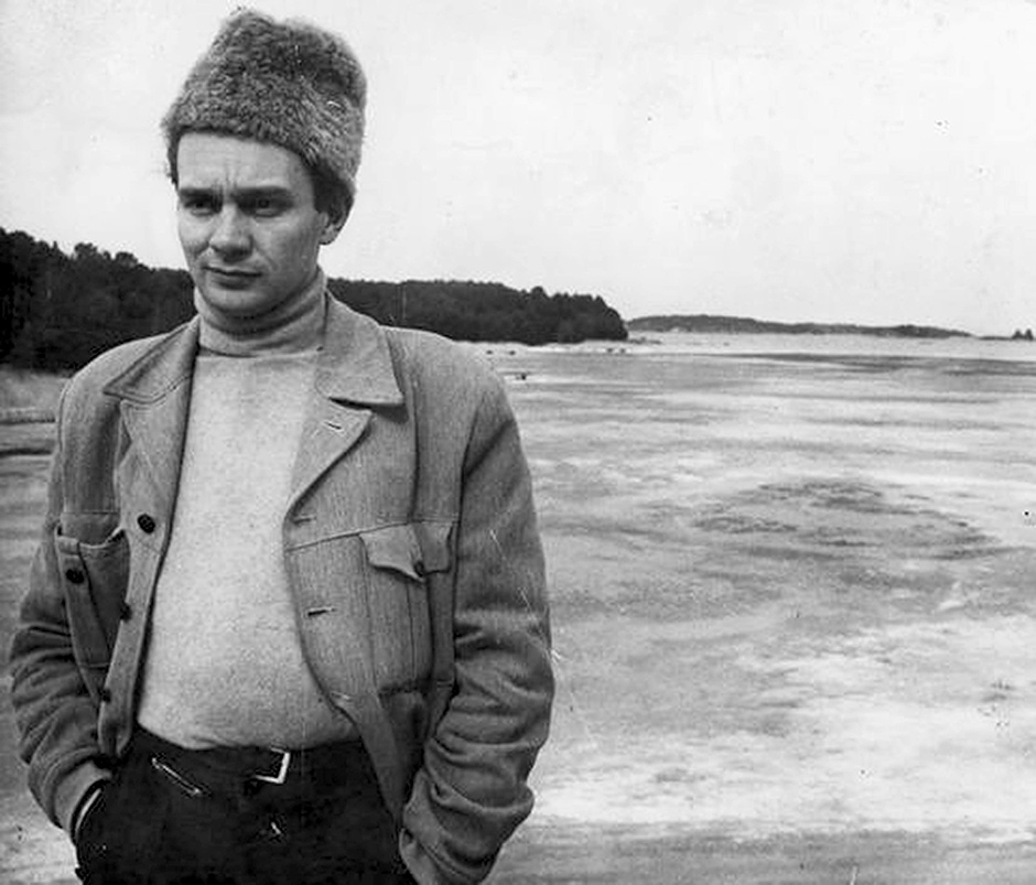 Stig Dagerman in the Stockholm archipelago, 1951