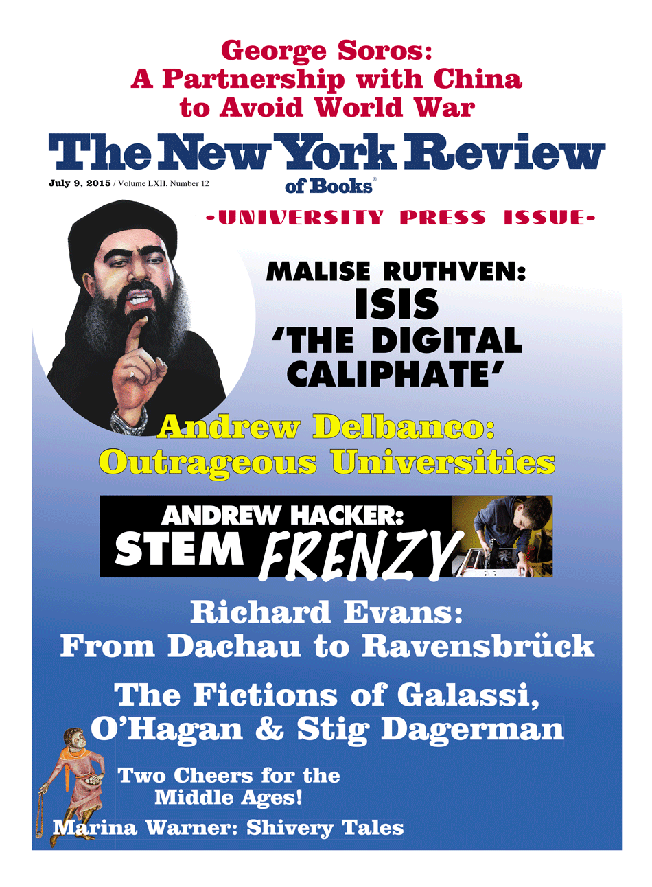 Image of the July 9, 2015 issue cover.