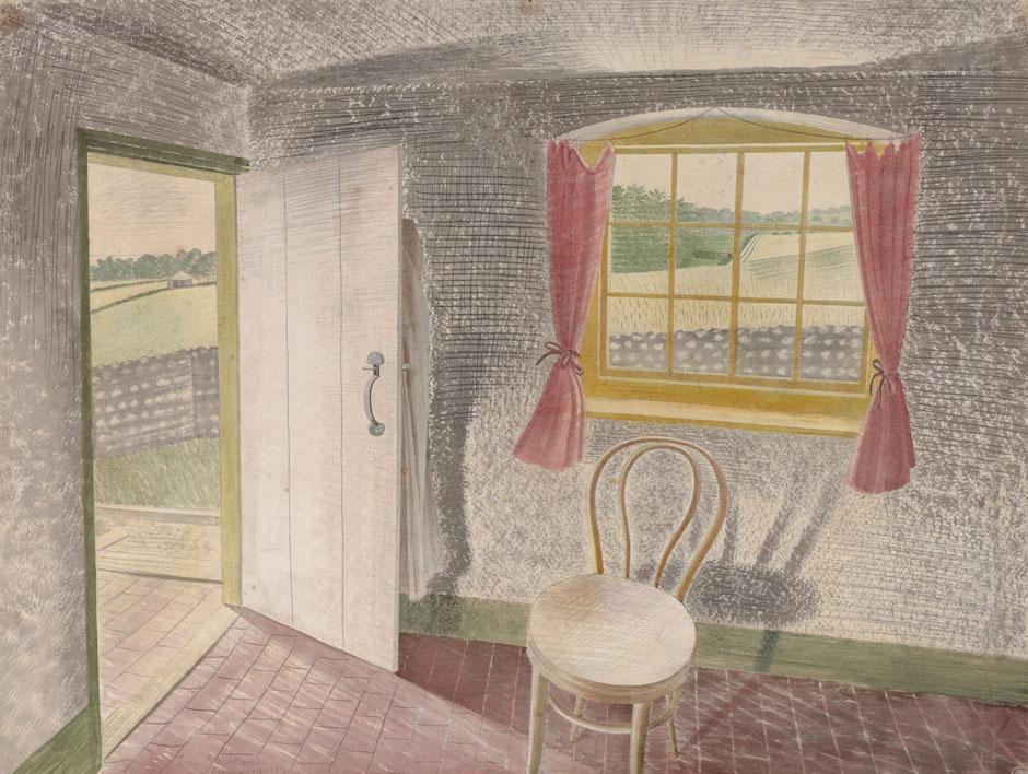 Interior at Furlong Ravilious.jpg