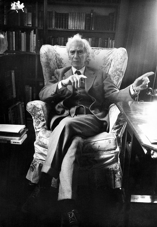 Bertrand Russell, 1962