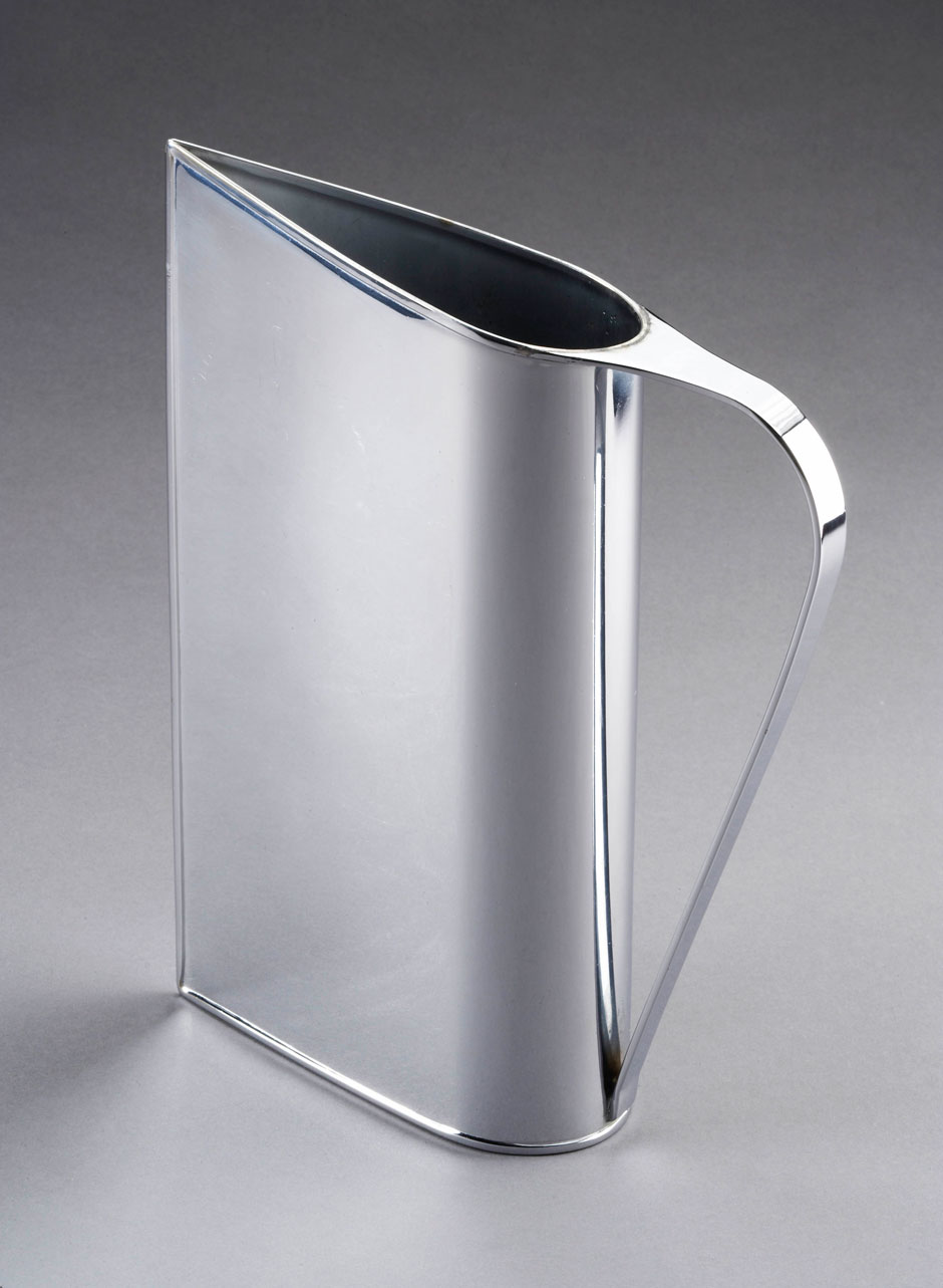 Normandie pitcher designed by Muller-Munk for Revere Copper and Brass, 1935