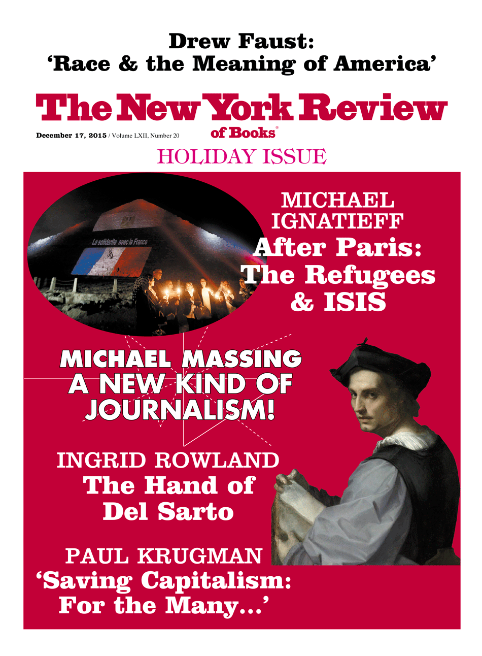 Image of the December 17, 2015 issue cover.