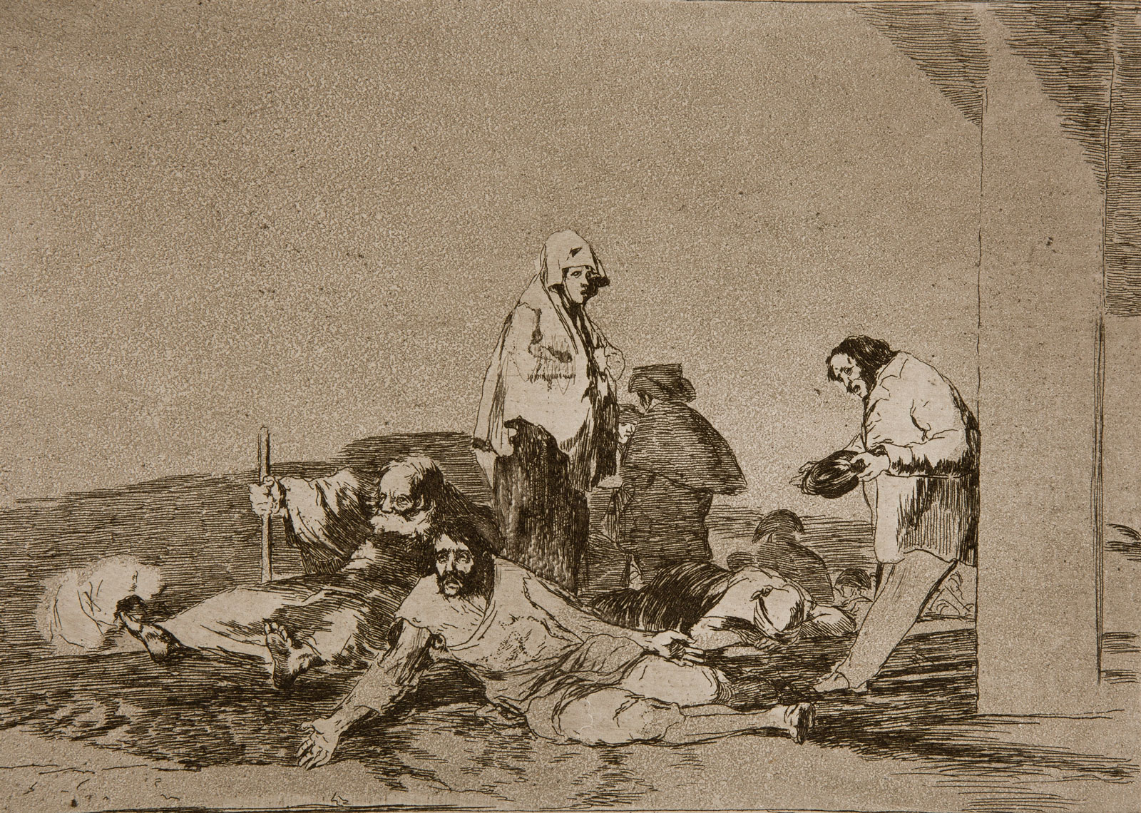 Francisco Goya: It's No Use Crying Out, 1810-1820