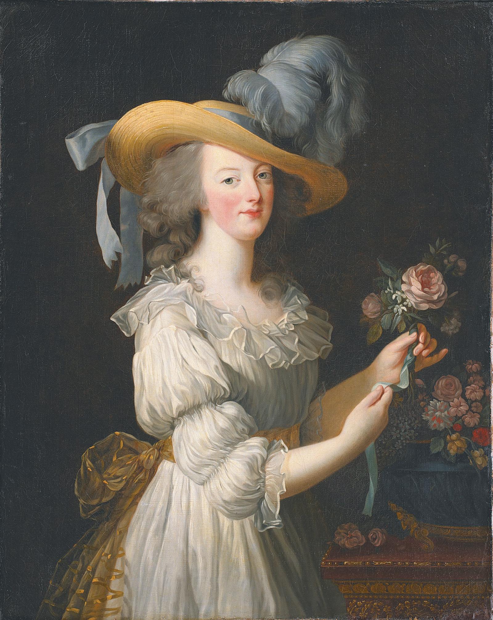 Élisabeth Louise Vigée Le Brun: Marie Antoinette in a Chemise Dress, 1783