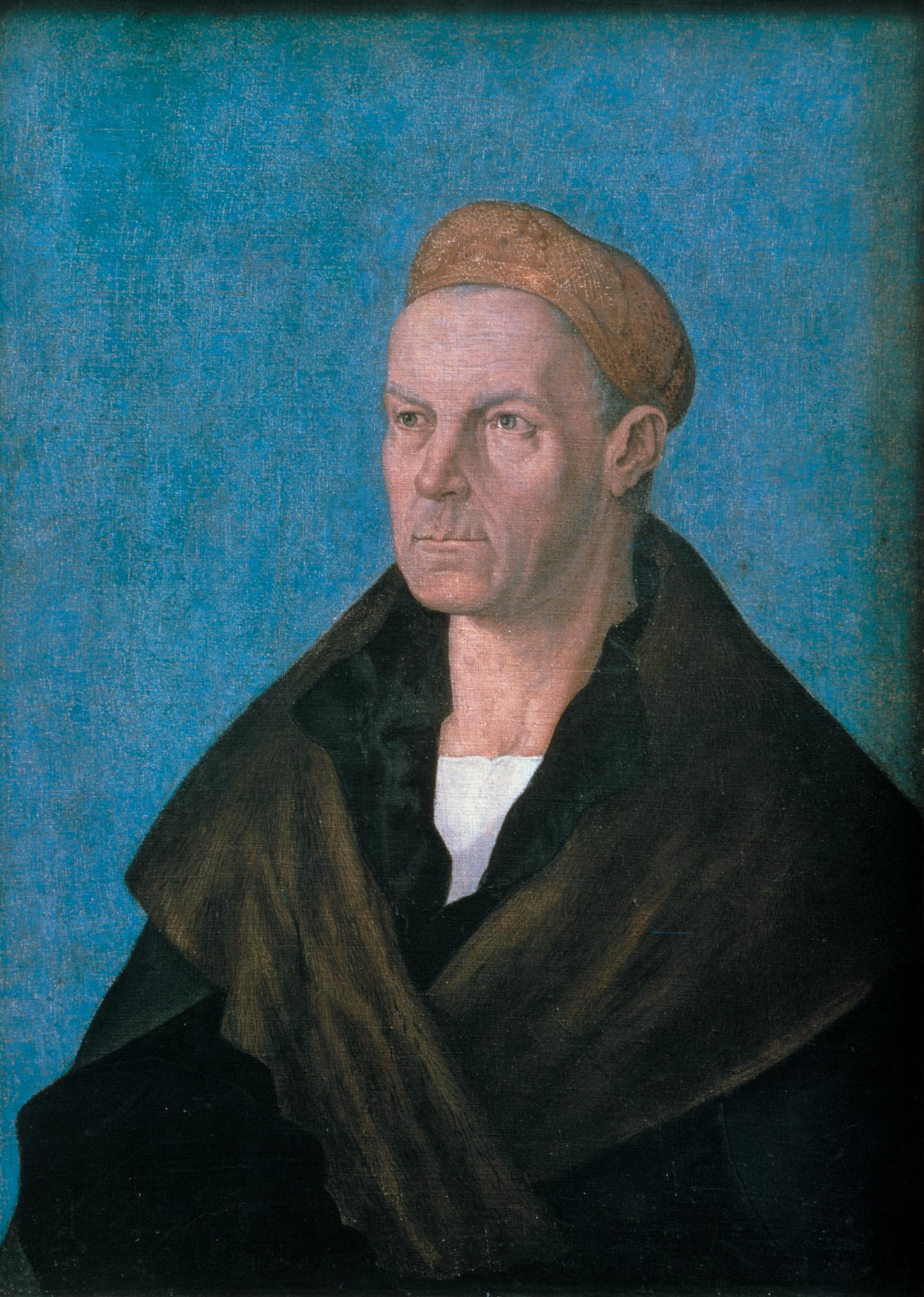 Jacob Fugger; portrait by Albrecht Dürer, circa 1520