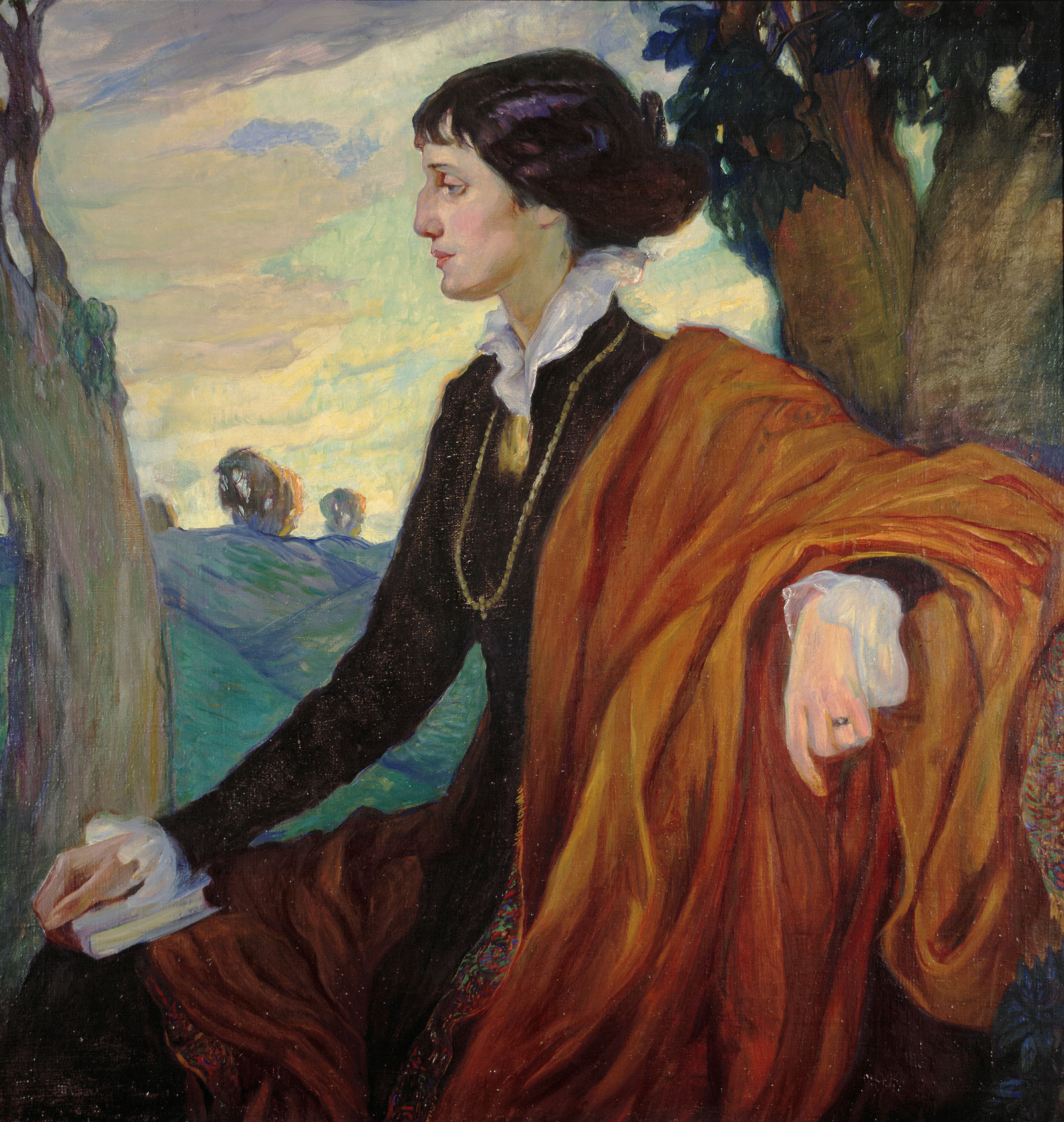 Olga Della-Vos-Kardovskaia: Anna Akhmatova, 1914
