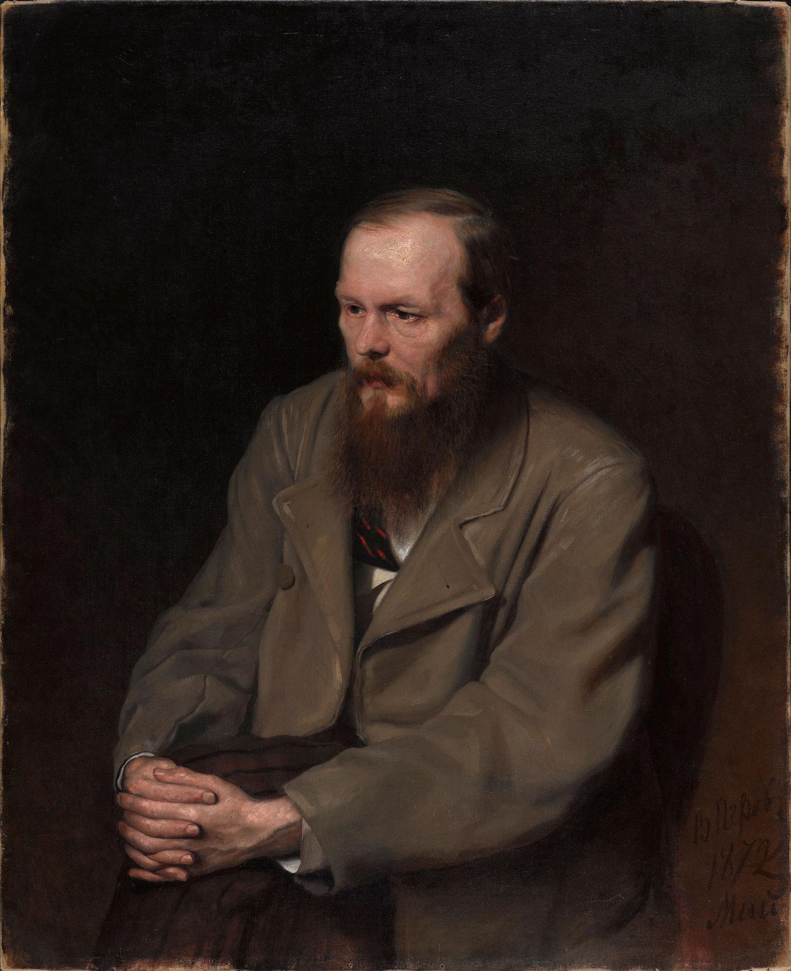 Vasily Perov: Fedor Dostoevsky, 1872