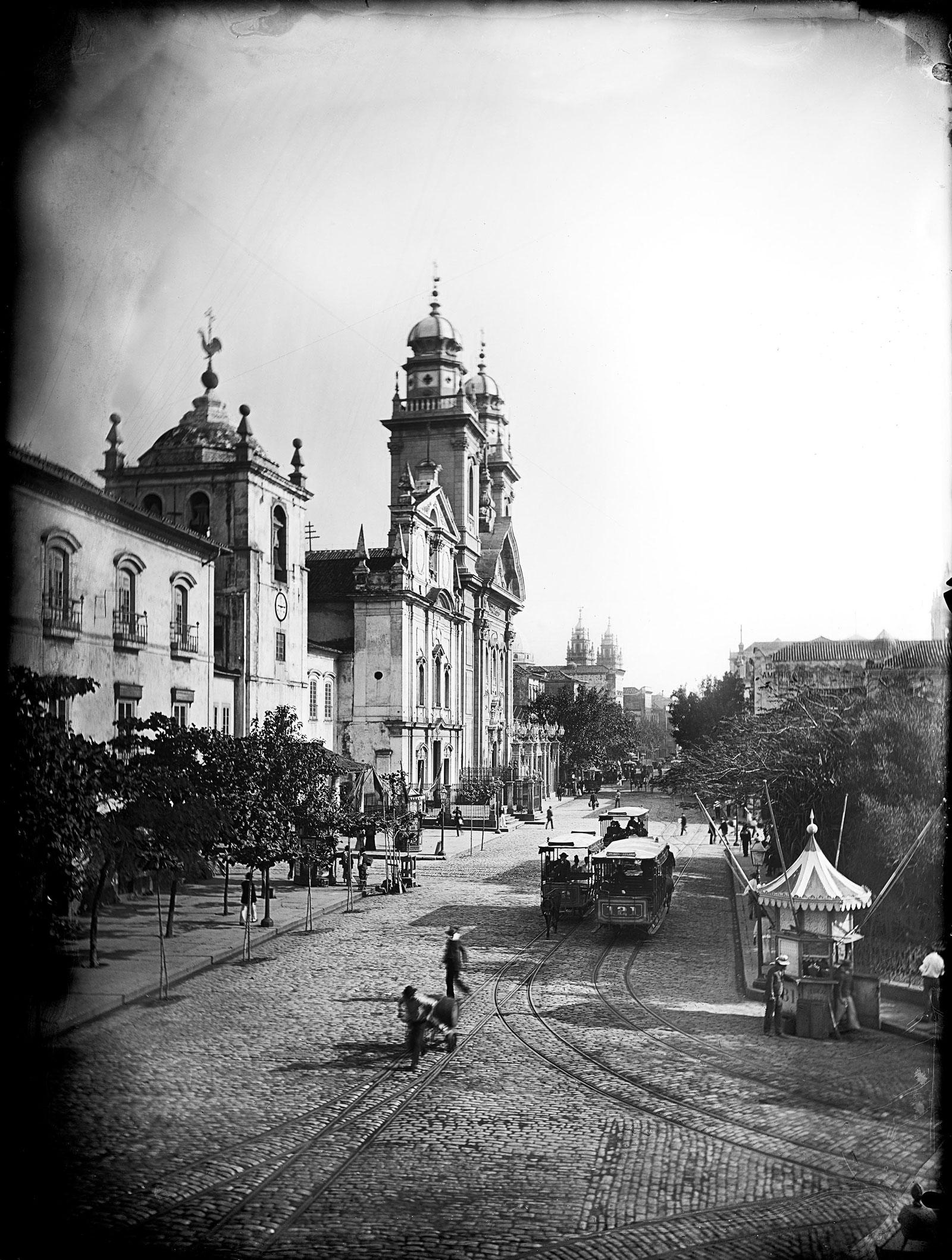 Primeiro de Março Street (detail), circa 1890