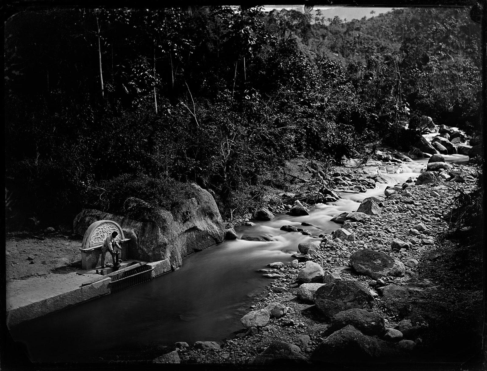 Water supply works, Rio d'ouro dam, circa 1888